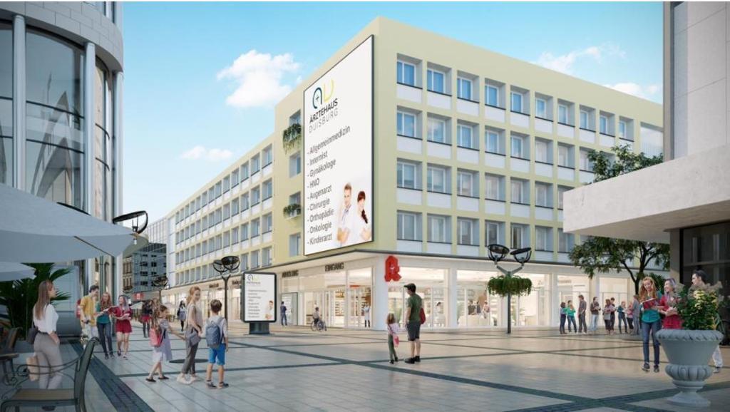 Neuer Standort Duisburg